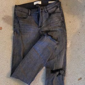 Black washed pac sun jeans
